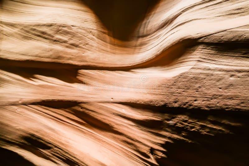 Formazione rocciosa astratta dell'arenaria in canyon dell'antilope, Arizona immagine stock libera da diritti