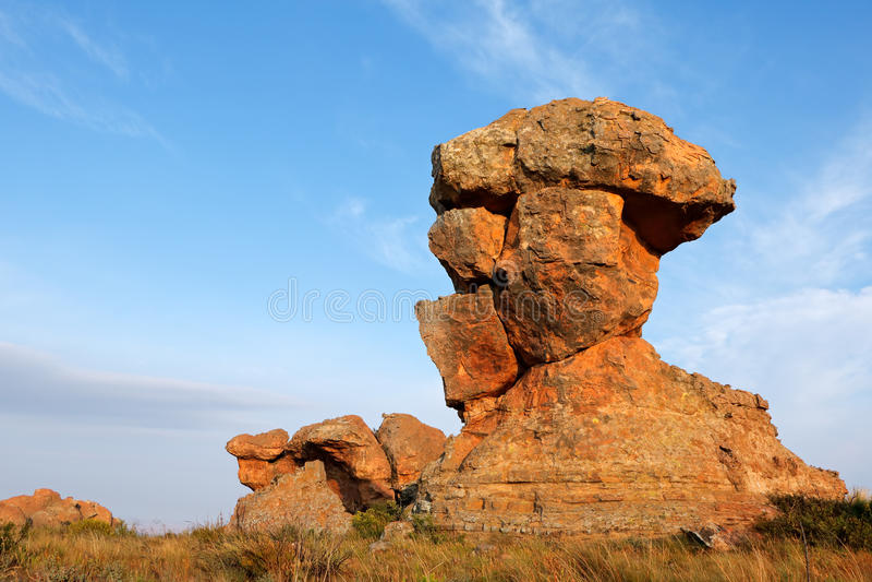 Formazione rocciosa dell'arenaria fotografie stock