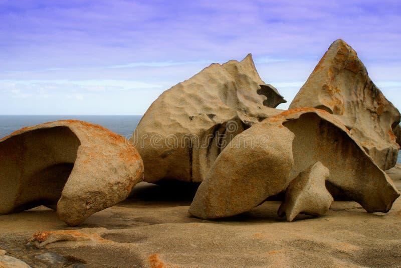 Formazione rocciosa notevole fotografie stock