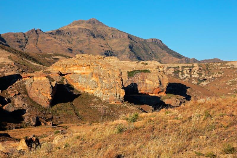 Formazioni rocciose dell'arenaria fotografia stock libera da diritti