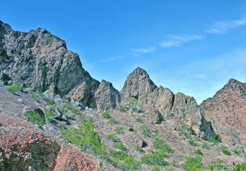 Formazioni rocciose vicino al fiume Colorado immagini stock libere da diritti
