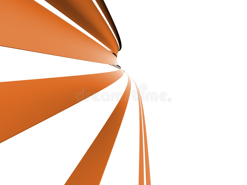 Forme abstraite illustration de vecteur