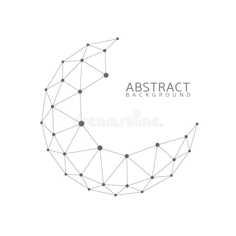 Forme abstraite de globe illustration libre de droits