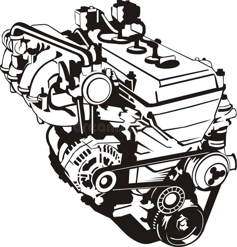 Forme d'engine illustration de vecteur