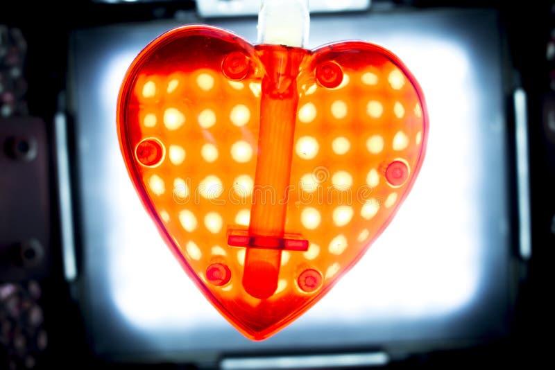 Forme de coeur d'amour de Saint-Valentin photo libre de droits