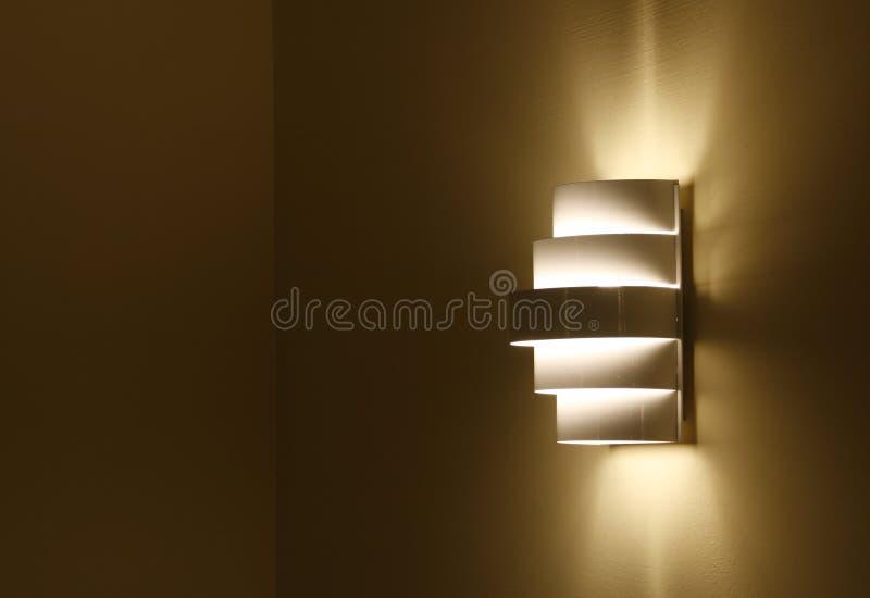 Forme De Lampe Photographie stock libre de droits