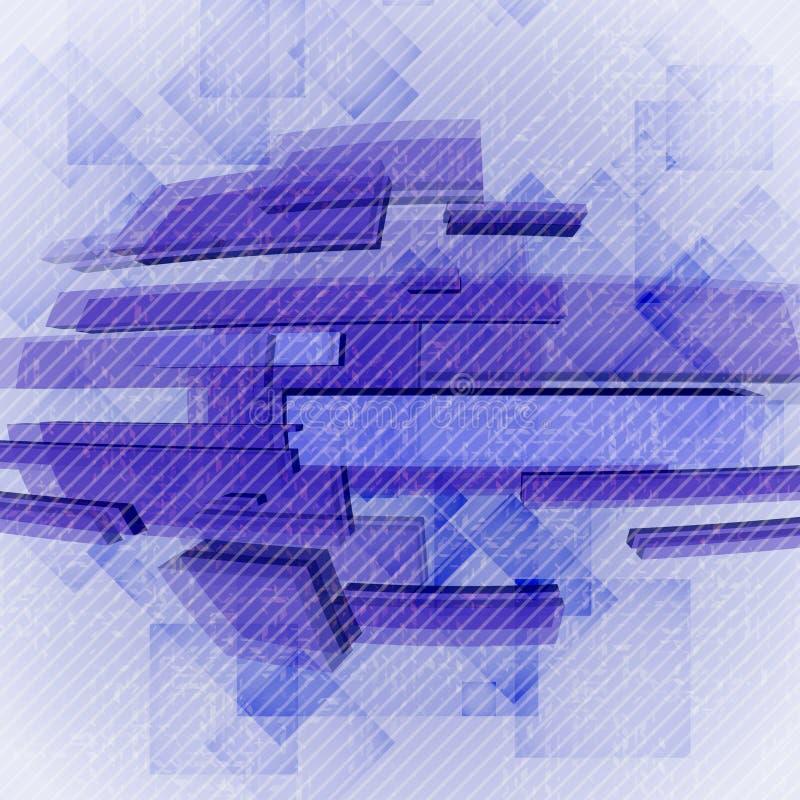 Forme geometriche astratte. illustrazione vettoriale