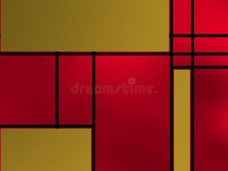Forme geometriche sopra la lampadina porpora immagine stock