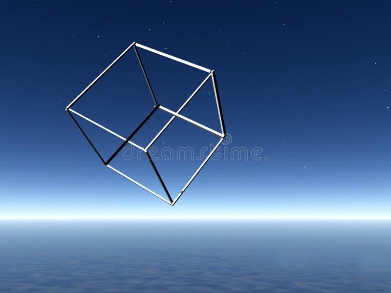 Forme impossible. illustration de vecteur