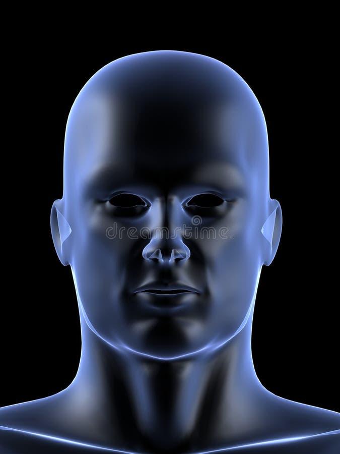 Forme mâle humaine illustration de vecteur
