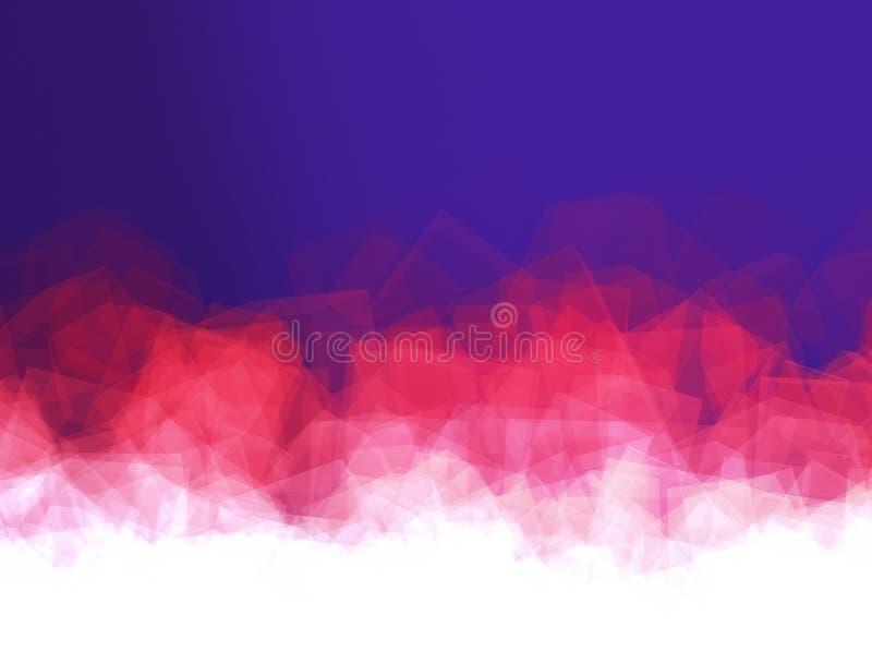 Forme multiple in un fondo variopinto Composizione astratta immagini stock libere da diritti