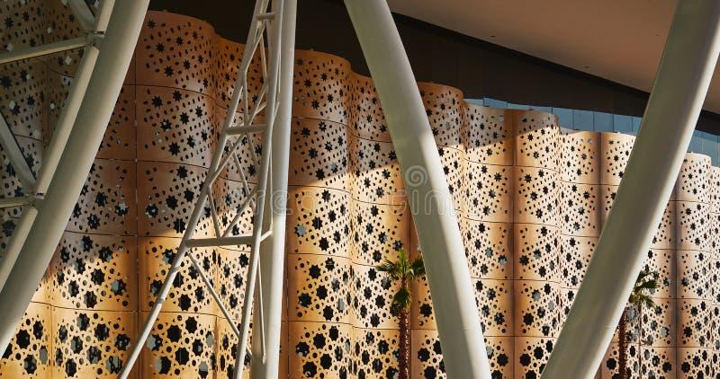 Forme orientali e struttura utilizzate nell'architettura fotografie stock