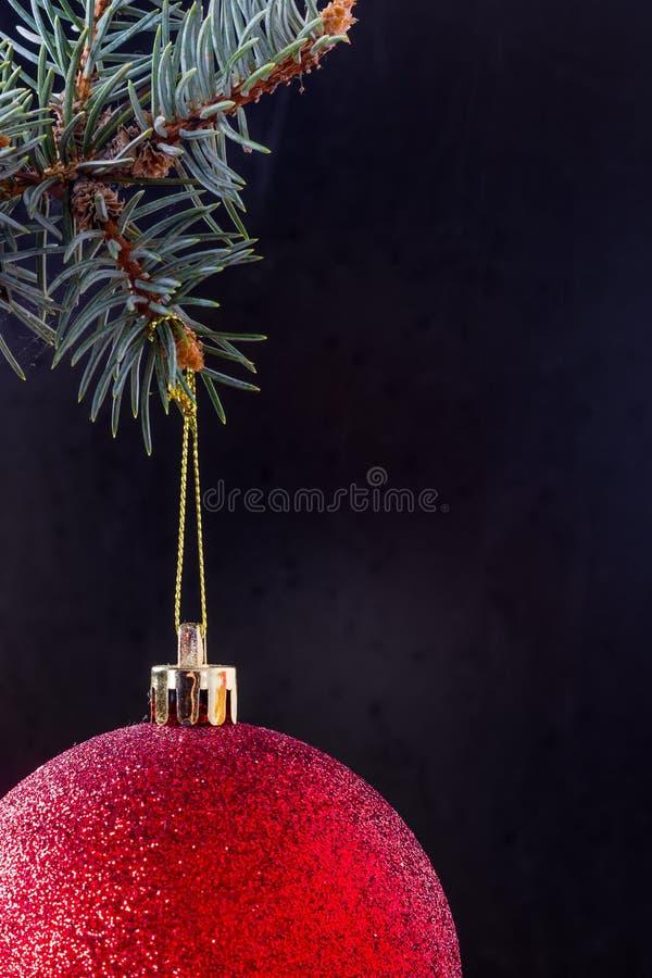 Forme para una tarjeta de Navidad imagen de archivo