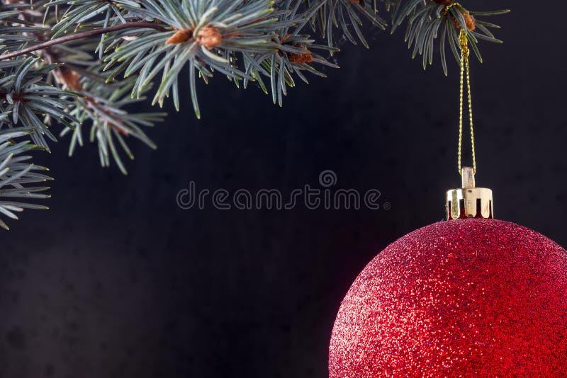 Forme para una tarjeta de Navidad imágenes de archivo libres de regalías