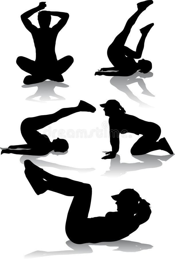 Forme physique illustration stock