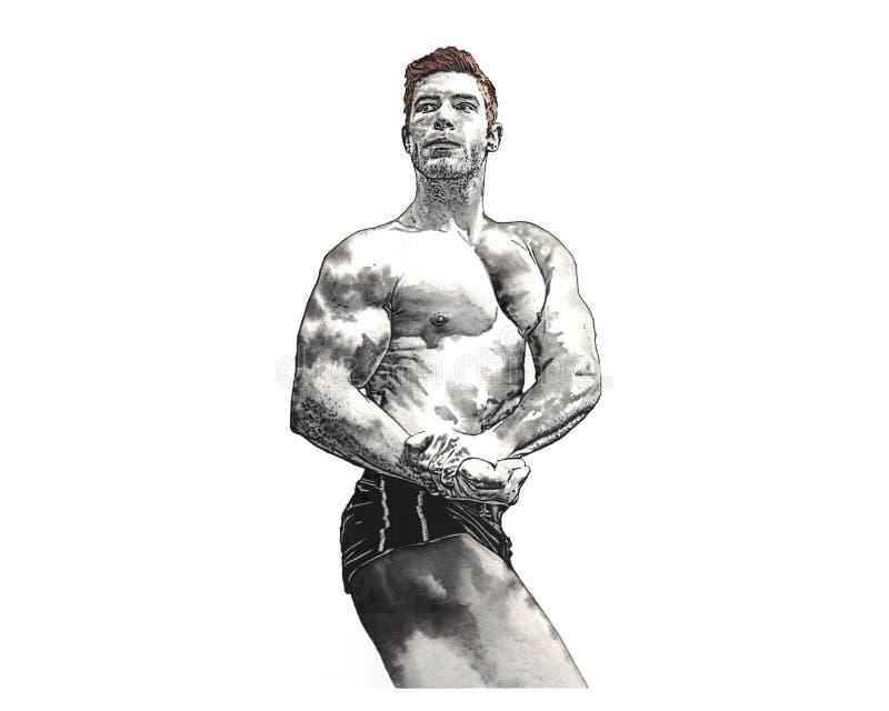 Forme physique illustration libre de droits