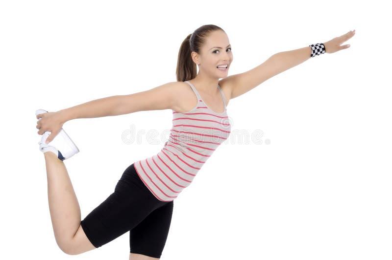 Forme physique aérobie photo libre de droits