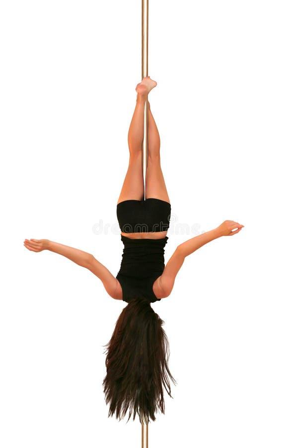 Forme physique de danse de Pôle photographie stock libre de droits