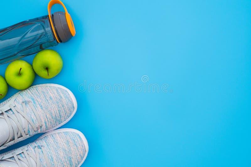 Forme physique et concept actif sain de fond de mode de vie E image stock