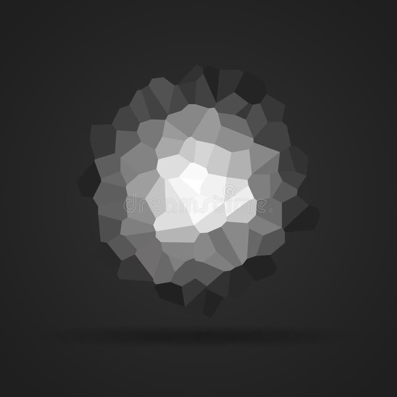 Forme triangulaire abstraite Illustration de vecteur illustration libre de droits