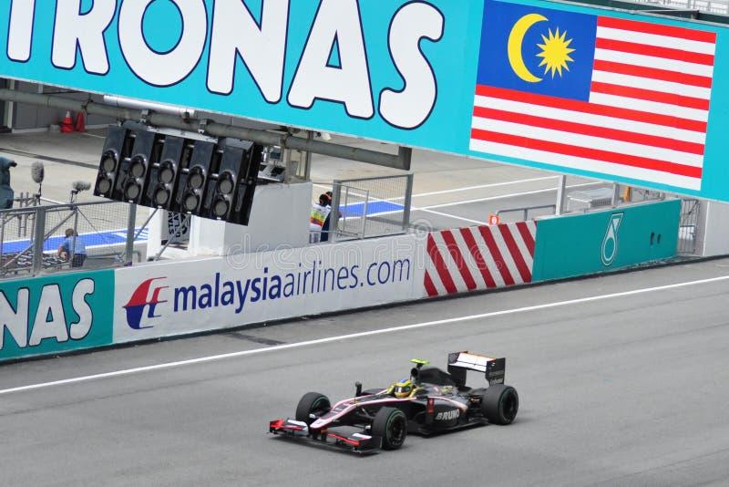 Formel 1 2010 Petronas malaysisches großartiges Prix lizenzfreies stockfoto