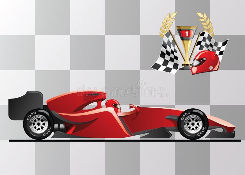Formel 1 lizenzfreie abbildung