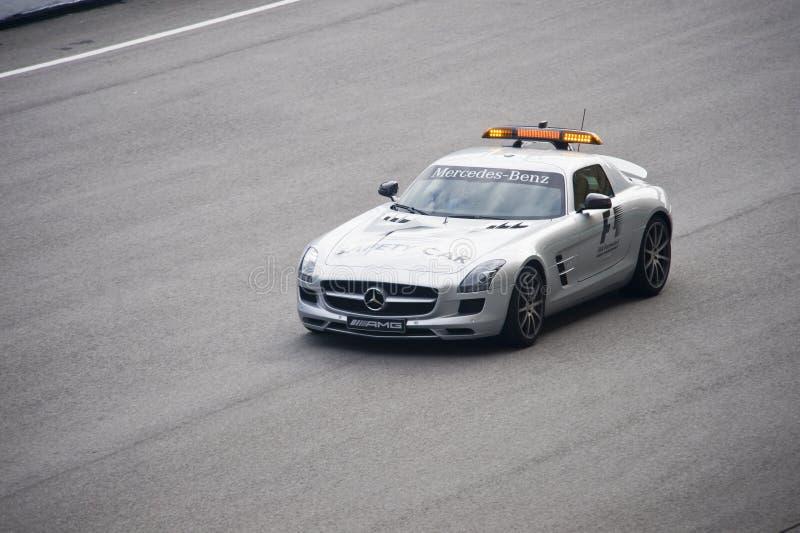 Formel 1-Sicherheits-Auto stockbilder