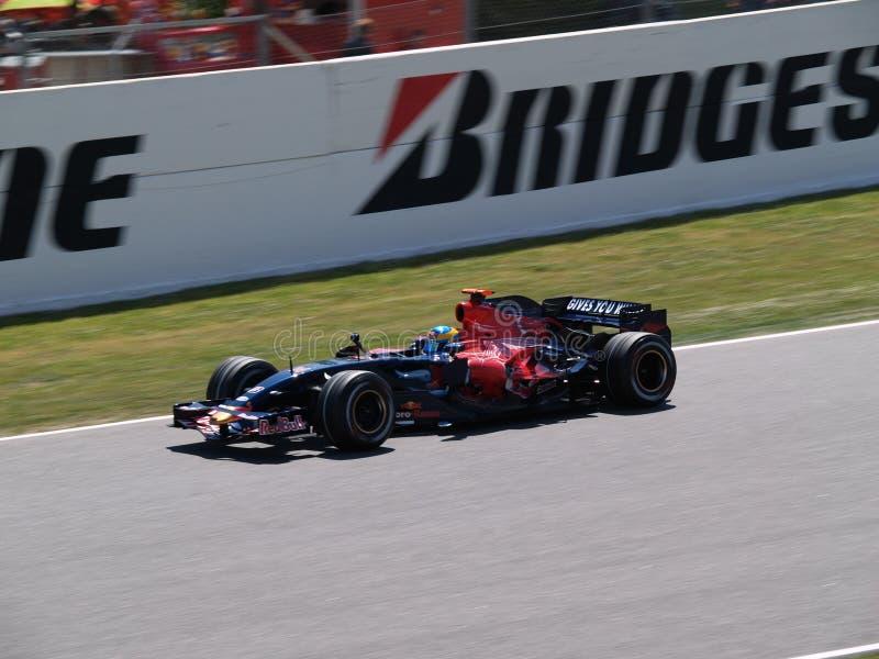 Formel 2008 1 großartiges Prix in Catalunya lizenzfreie stockfotos