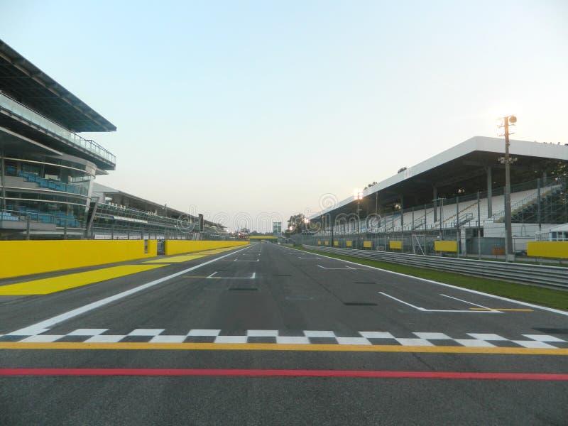 Formel 1, Anfang und Ziel lizenzfreie stockbilder
