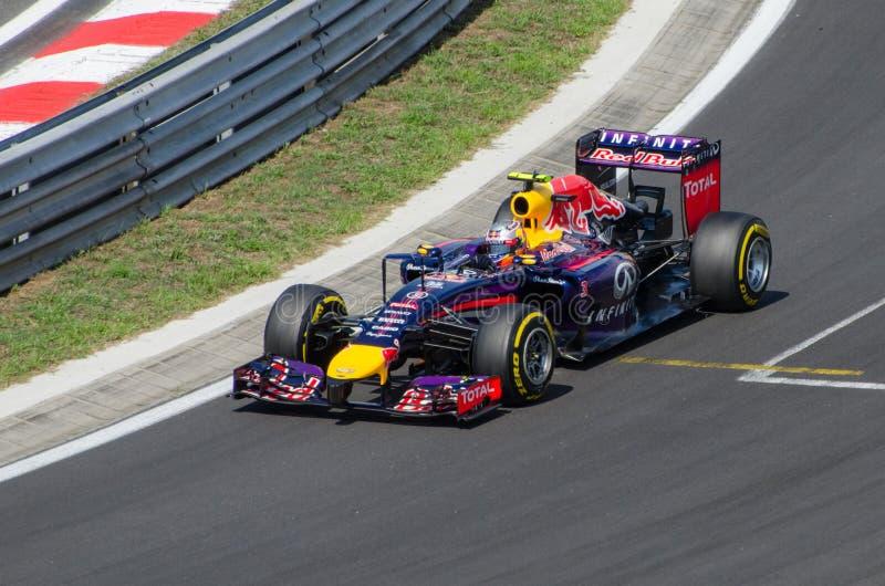 Formel 1 - Daniel Ricciardo lizenzfreies stockfoto