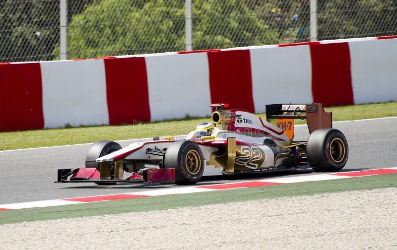 Formel 1 - De la Rosa royaltyfri bild