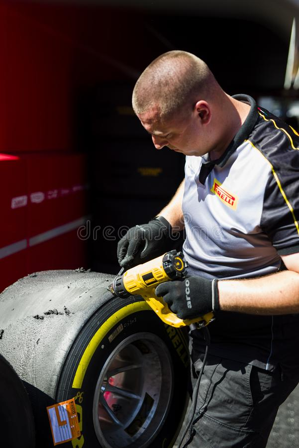 Formel 1-Franzosen Grand Prix 2019 lizenzfreies stockfoto