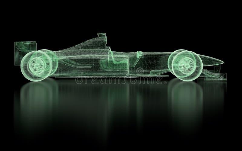 Formel 1-Masche vektor abbildung