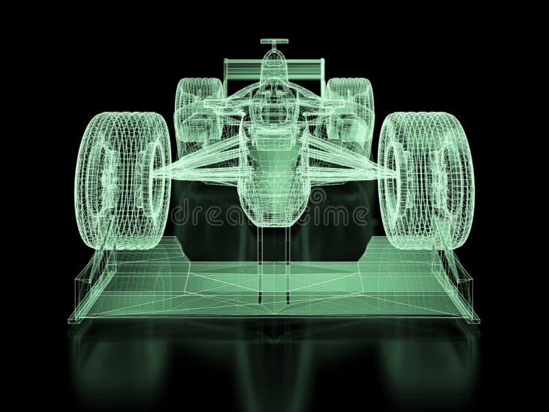 Formel 1-Masche lizenzfreie abbildung