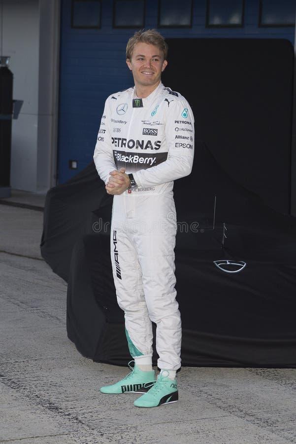 Formel 1, 2015: Nico Rosberg stockfoto
