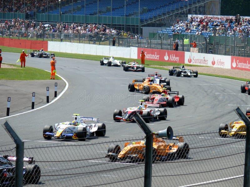 Formel Renault 3.5 lizenzfreies stockfoto