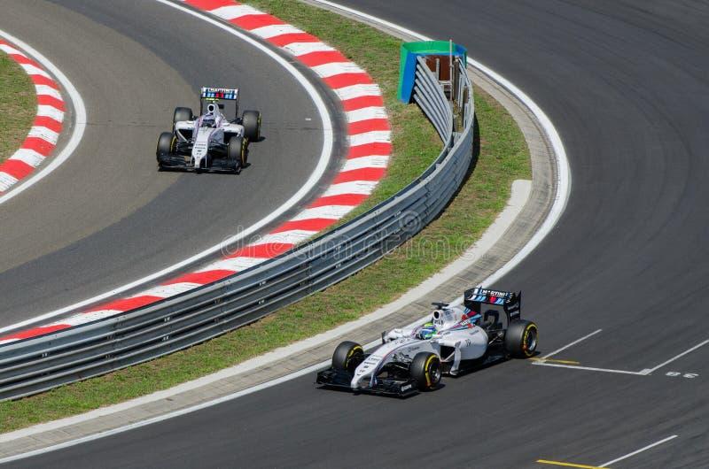 Formel 1 - Williams stockfotos