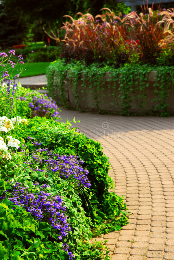 Formele tuin royalty-vrije stock fotografie