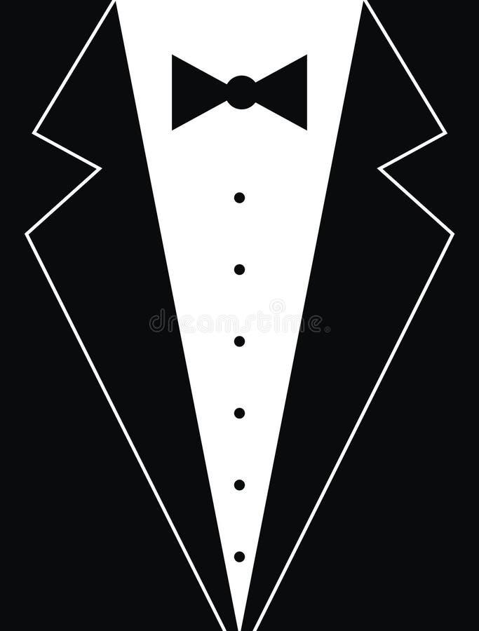formell dress royaltyfri illustrationer