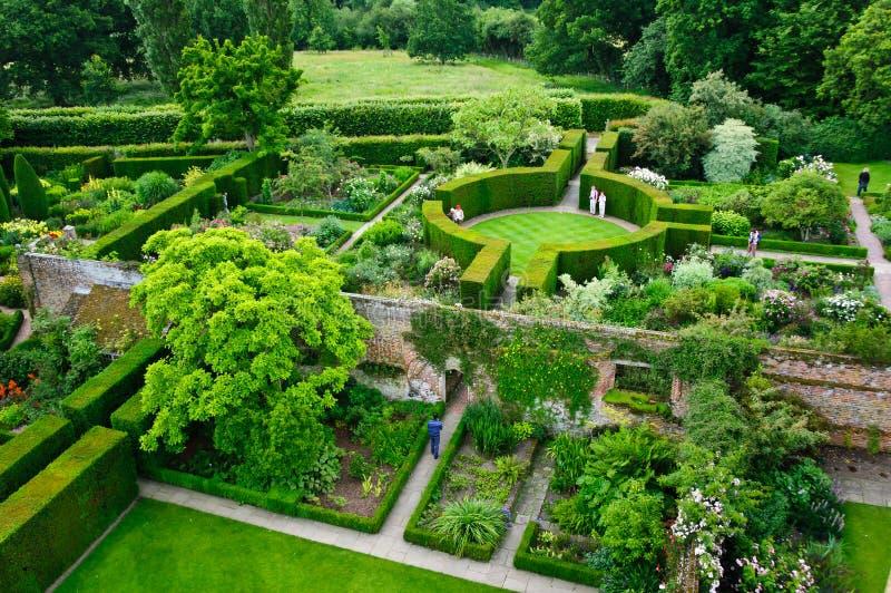 formella trädgårdar arkivfoton