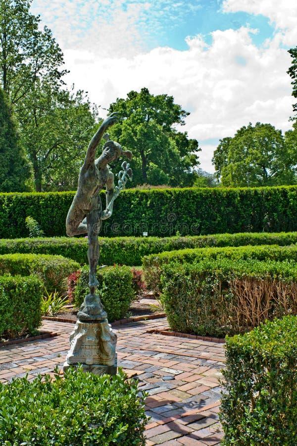 formella trädgårdar arkivbild