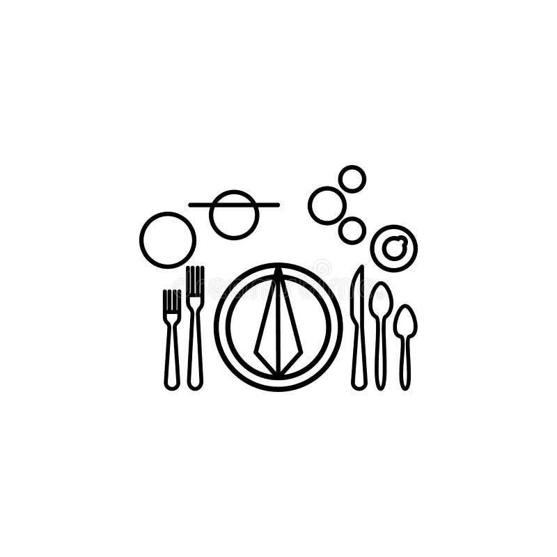 Formellt tabelletikettsymbol Kan användas för rengöringsduken, logoen, den mobila appen, UI, UX stock illustrationer