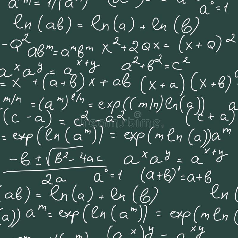 formelmath vektor illustrationer