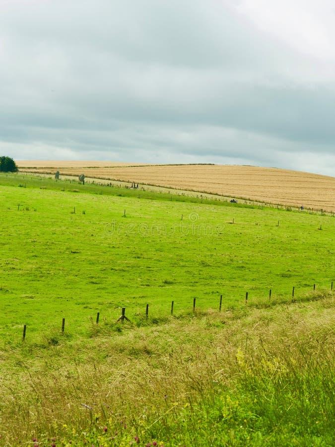 Formen der Landschaft lizenzfreie stockfotos