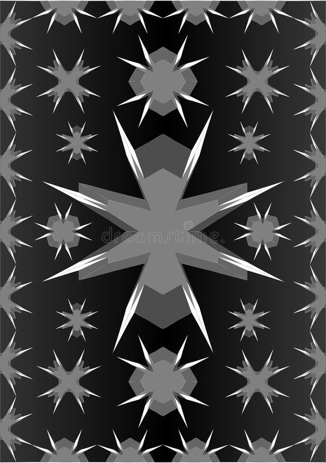Formen mit scharfen Seiten vektor abbildung