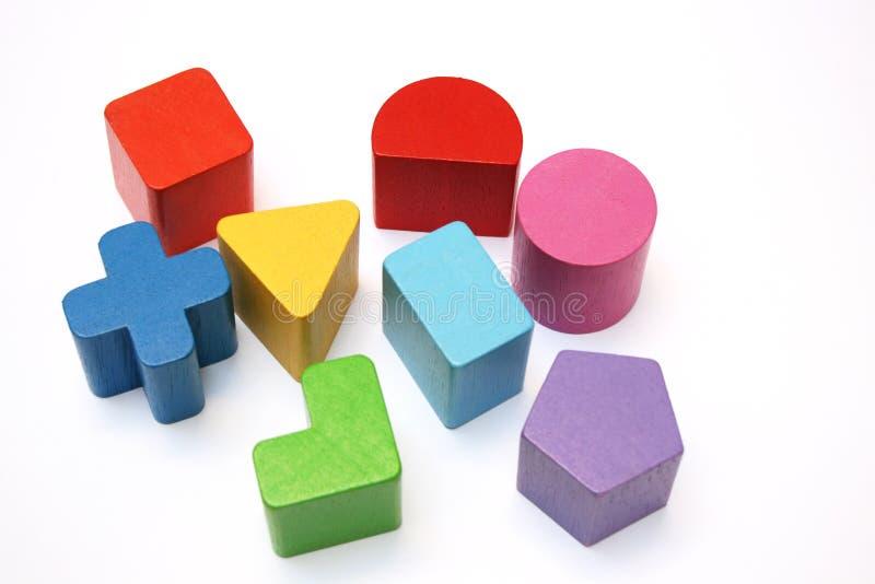 Formen und Farben stockfotos