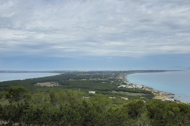 formentera海岛 免版税库存图片