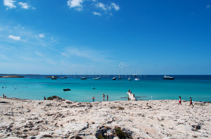 Download Formentera, Îles Baléares, Espagne, L'Europe Photographie éditorial - Image du honeymoon, cityscape: 76086292