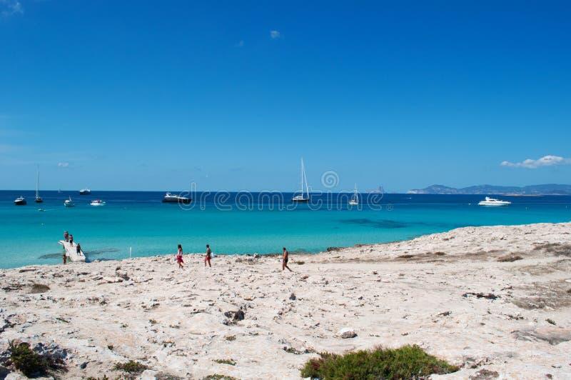 Download Formentera, Îles Baléares, Espagne, L'Europe Image stock éditorial - Image du amusement, évasion: 76086314
