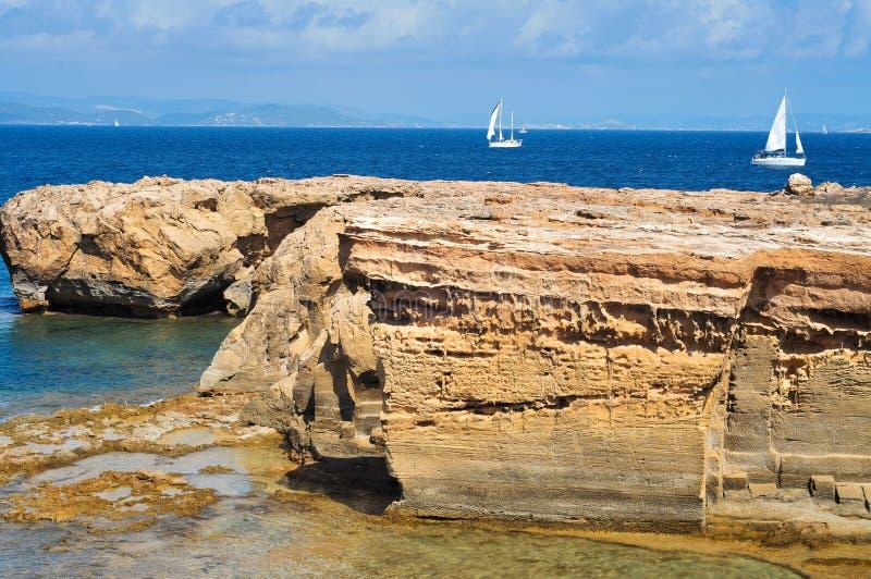 Formentera, Balearic Islands, Spain Royalty Free Stock Photography
